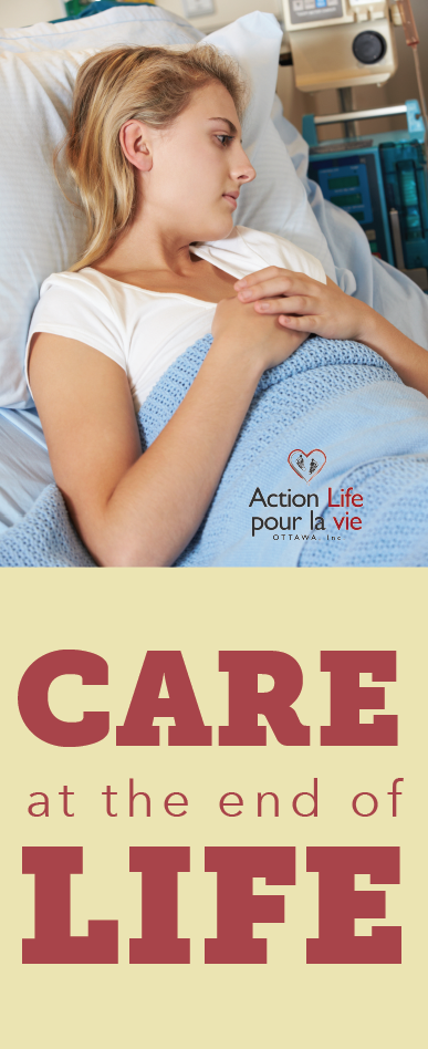 Care at the end life brochure cover